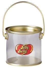 Clear Pail with Jelly Belly Logo